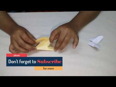 How to Make Butterfly by Paper || Paper Butterfly || Origami Butterfly