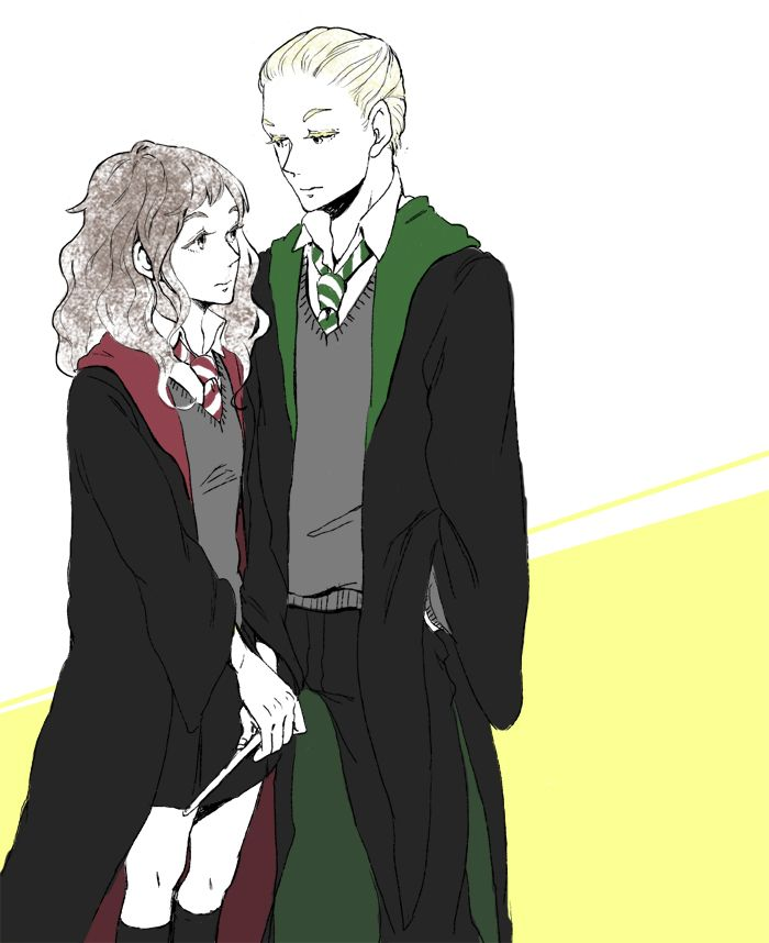 draco and hermione are secretly dating