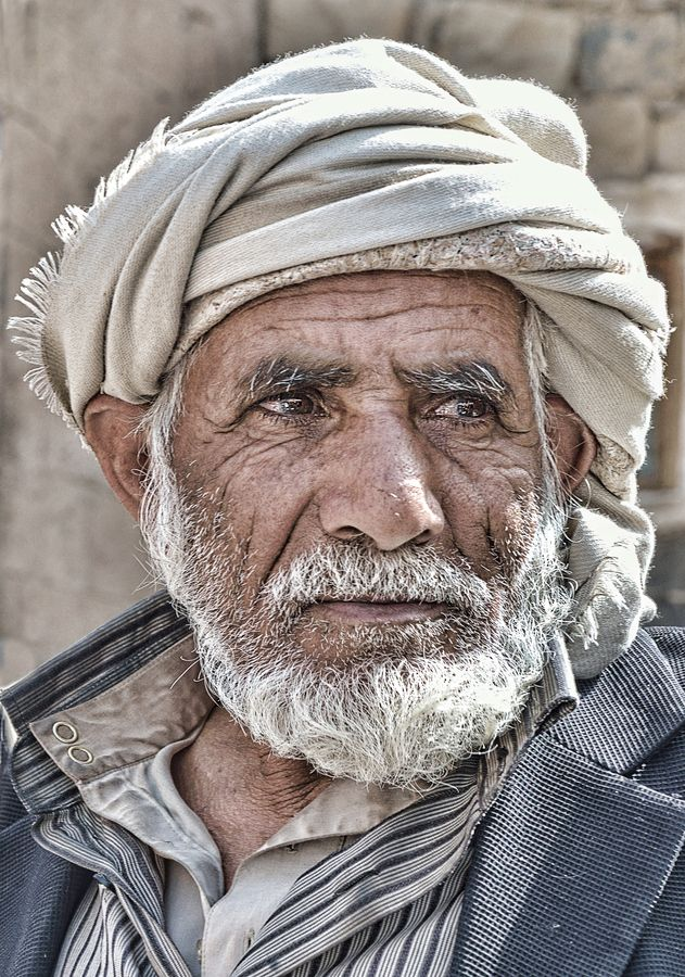 """Old Man from Sanaa"" by Csilla Zelko"