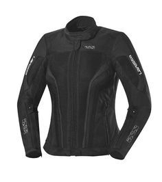 Veste moto femme ete IXS LARISSA noir 134€