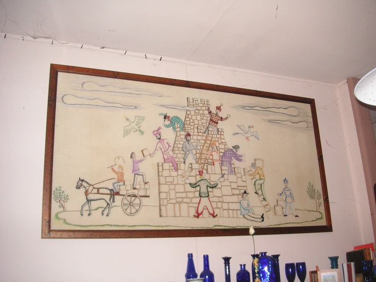 Tower of Babel framed