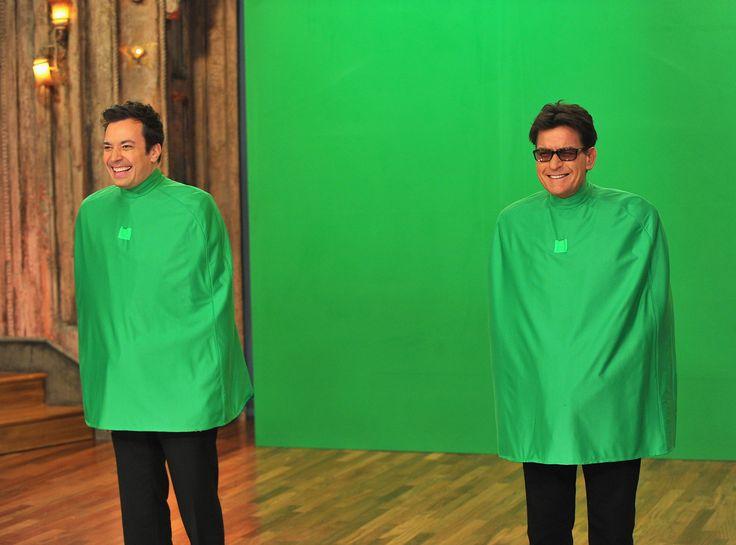 Charlie Sheen on Jimmy Fallon