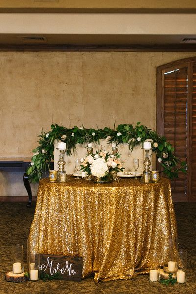 Rustic glam arizona wedding romantic candles sweetheart