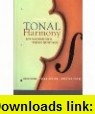 Tonal Harmony With an Introduction to Twentieth-century Music (9780073219479) Stefan Kostka, Dorothy Payne , ISBN-10: 0073219479  , ISBN-13: 978-0073219479 ,  , tutorials , pdf , ebook , torrent , downloads , rapidshare , filesonic , hotfile , megaupload , fileserve