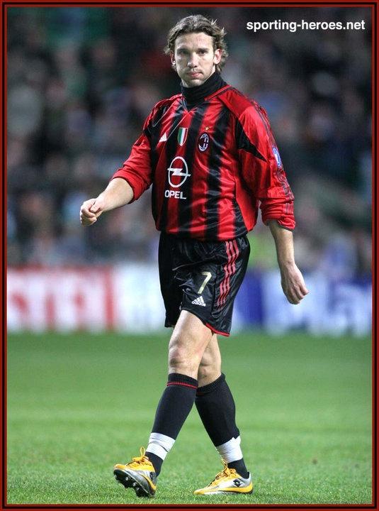 Andriy SHEVCHENKO Milan