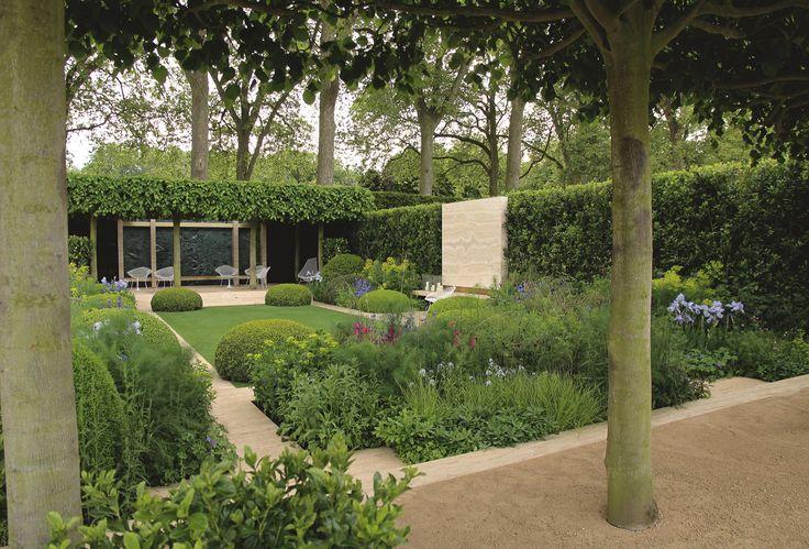 25 beste idee n over moderne tuinen op pinterest modern for Tuinontwerp tussenwoning