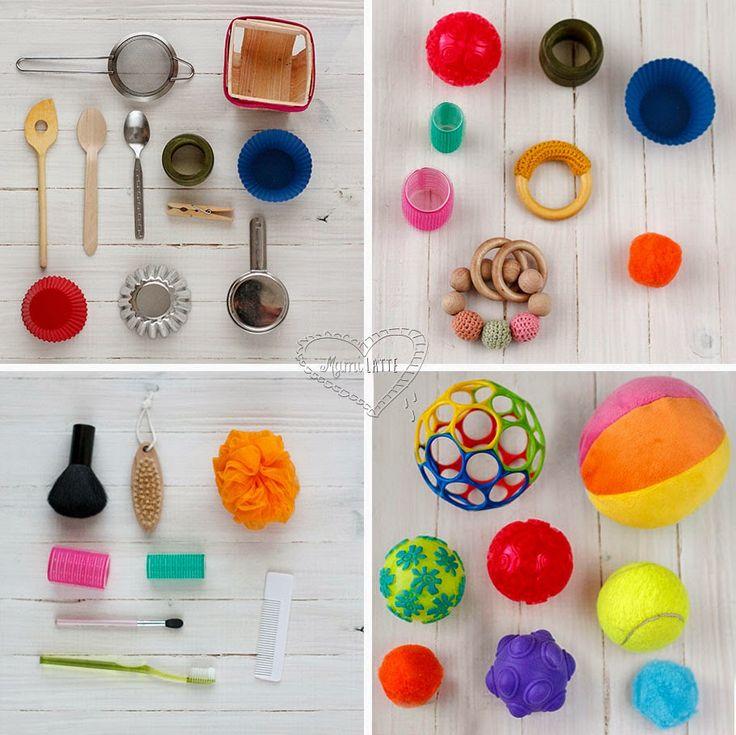 La cesta o panera de los tesoros: juego y jueguetes para bebés de entre 6 y 12 meses. | MamiLatte