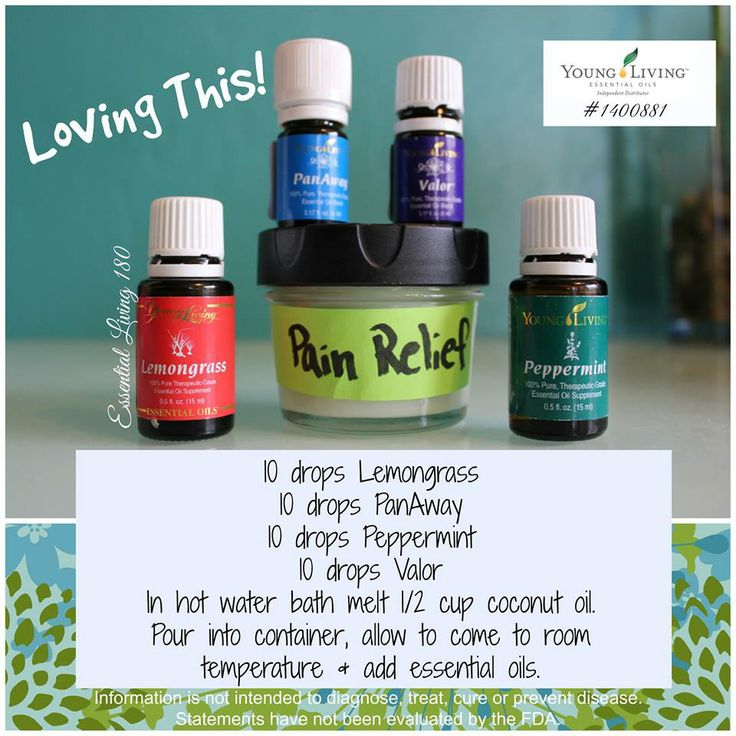 Pain Relief With Essential Oils Essential Oils For Aches