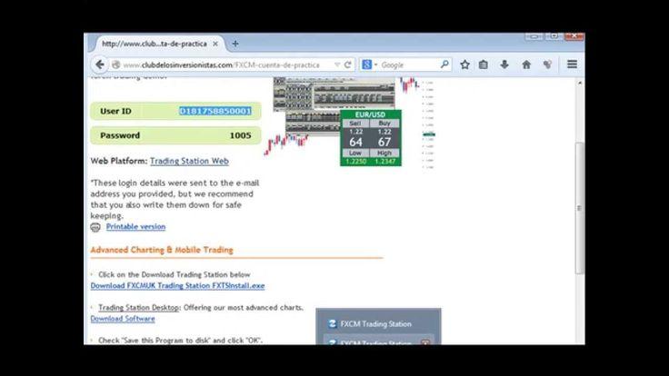 Como invertir en la Bolsa - Plataforma FXCM Tutorial