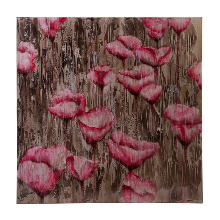 Imax Telica Floral Oil Painting Wall Art - 76184