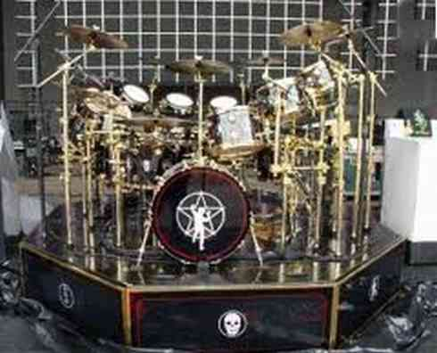 The most expensive drum set in the world.
