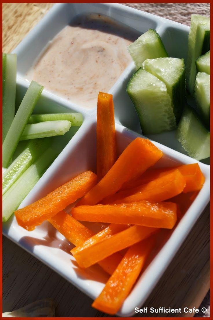 Vegetable Crudites & Harrisa Dip
