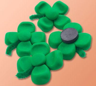 Four Leaf #Clover Magnets