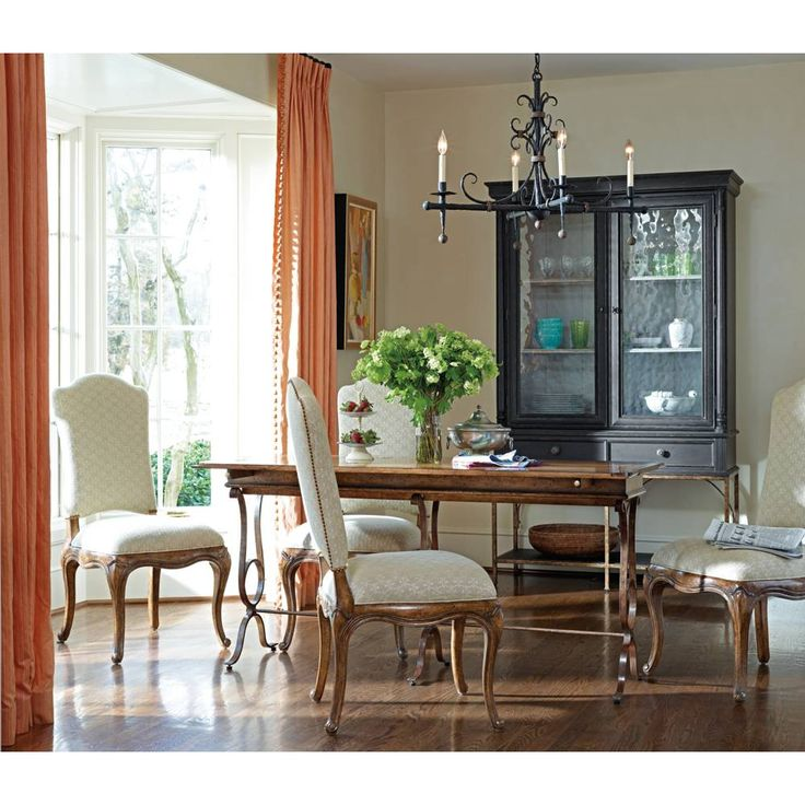 Arrondissement Salon Cercle Cabinet In Rustic Charcoal  . Find This Pin And  More On Arrondissement By Stanleyfurn. Stanley Furniture Arrondissement  Dining ...