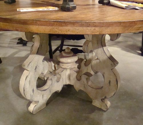 "French Country Round Dining Table: Tuscany French Country 54"" Round Dining Table Cambridge"