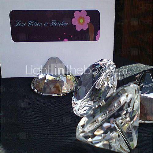 diamantvormige plaats kaarthouders (set van 4)