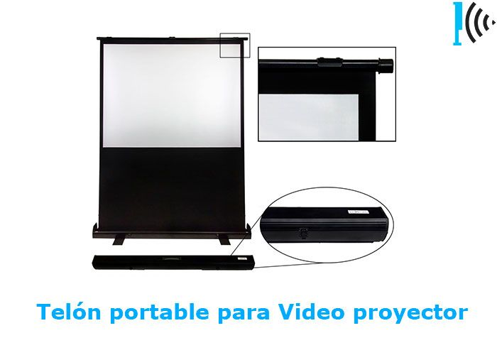 Mira pantallas portables de vídeo beam en nuestro portafolio en linea:  http://telonescolombia.com/Catalogo-de-pantallas-de-proyeccion-para-video-beam-Telones-Colombia.html