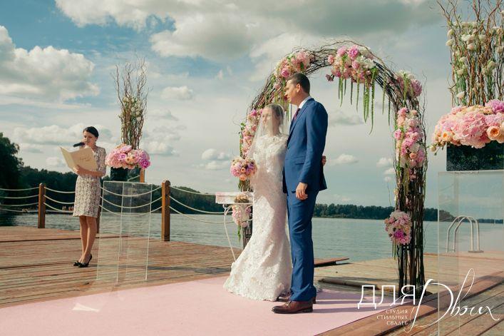 """- свадьба в шатре на природе   Свадебное агентство Студия стильных свадеб """"Для Двоих"""""""