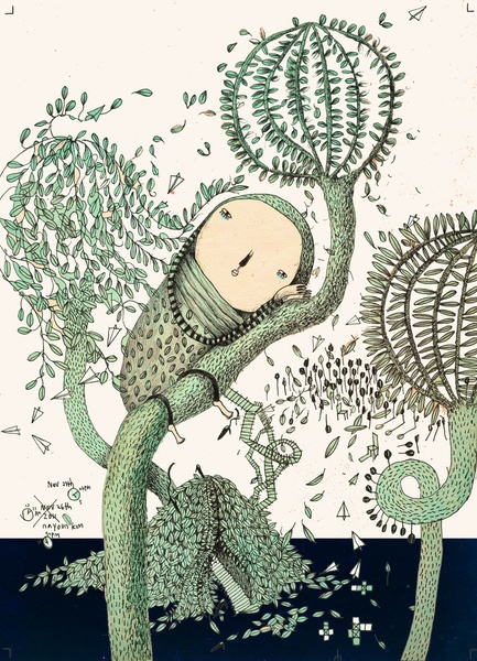 My Green Memory by Nayoun Kim
