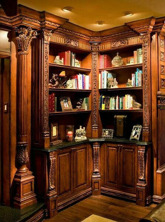20+ Best Old Home Library Room Design And Decorating Ideas