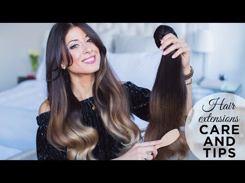 Important Tips When Caring For your Hair Extensions - BeautifEyes