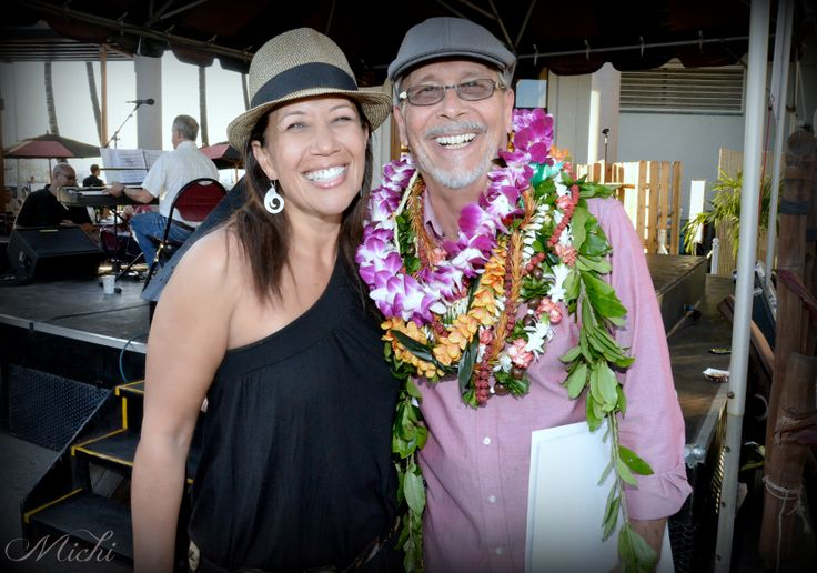 Celebrating Hawaii's Hula Photographer, Kim Taylor Reece with Na Hoku Hanohano Award Winning Vocalist, Lehua Kalima!