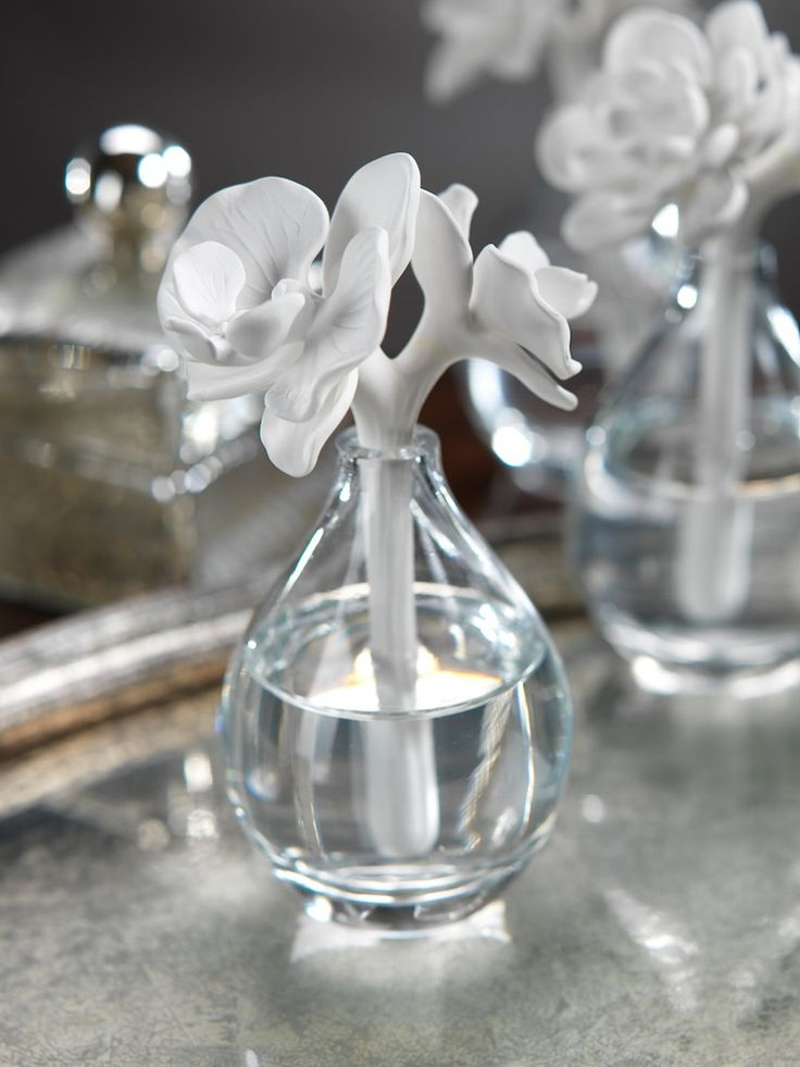 Giardino di Fiori Porcelain Diffuser - White Orchid