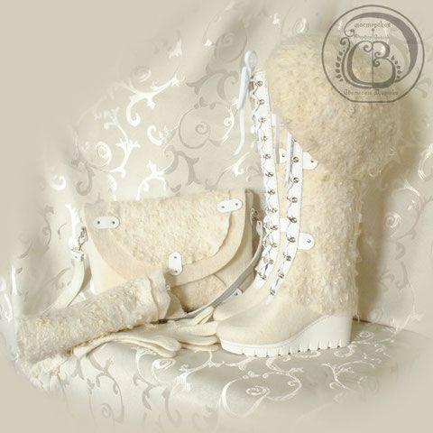 Валенки и другие изделия из войлока) Теплые вещи для холодной погоды) | Страна Мастеров