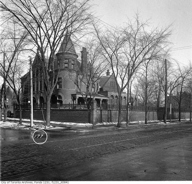 The George Gooderham House, architect David Roberts Jr. built 1889-1902