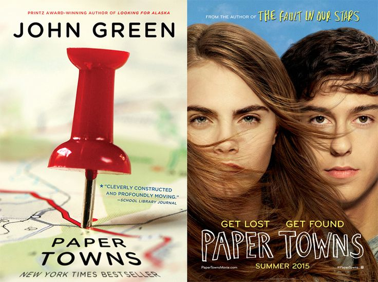 Book vs Movie: Paper Towns