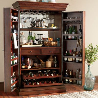 birch lane landon bar cabinet
