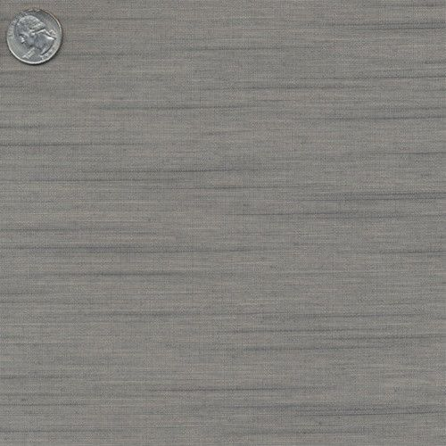 Gray Natural Silk Wallpaper - Burke Decor