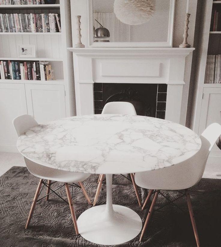 Eero Saarinen Tulip Marble Table For Knoll Studio In 2020 Knoll
