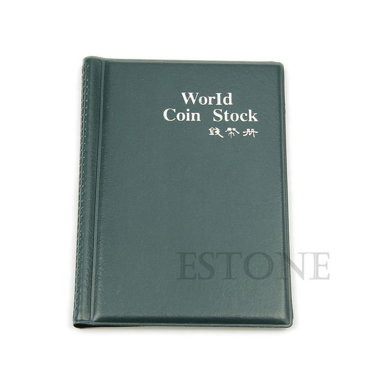 Coins Collecting Album Coin Holders Storage Money Penny Pockets Album Scrapbook Collection