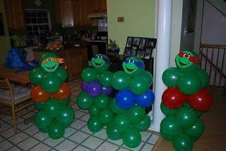 Teenage Mutant Ninja Turtle Birthday Party Inspiration   Semmes Savers