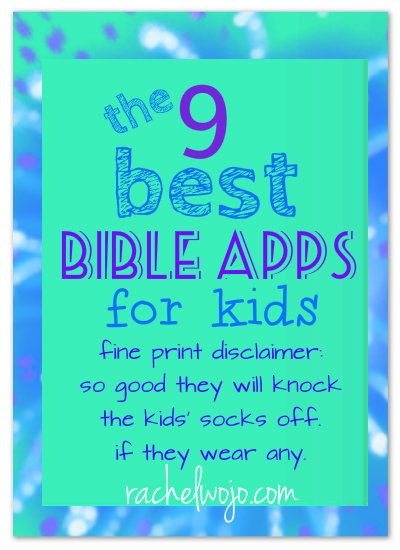 An update on the best Bible Apps for Kids available! So good they';ll knock the socks off your kiddos!