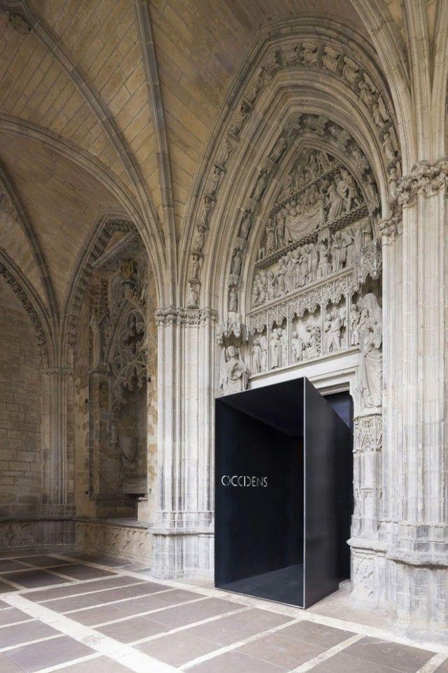 Museo Occidens en Pamplona por Antonio Vaíllo y Juan Luis Irigaray