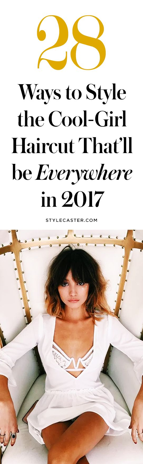 28 ways to style the coolest haircut trend for 2017—the bob with bangs | short hairstyle inspo | @stylecaster