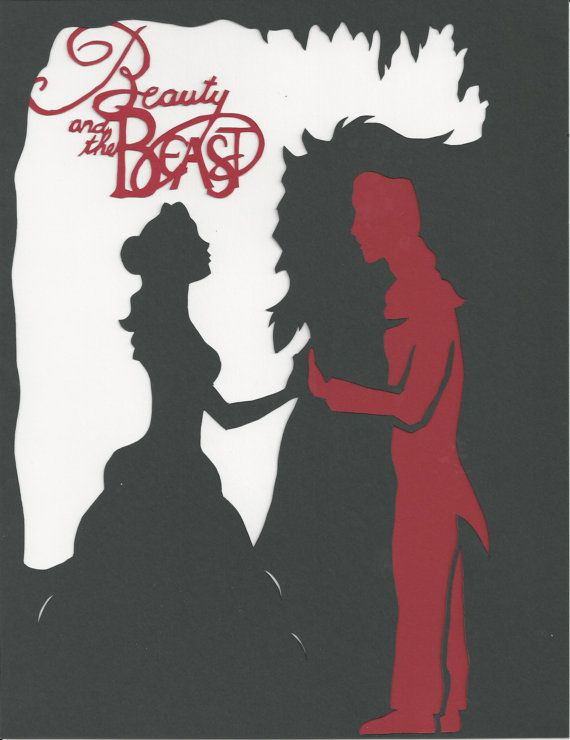 LISTING FOR CAROLYN Paper Cut Silhouette by EastNeverlandTrading