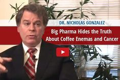 Dr Nicholas Gonzalez tells all in this exclusive interview about coffee enemas and cancer, and how it was covered it up.