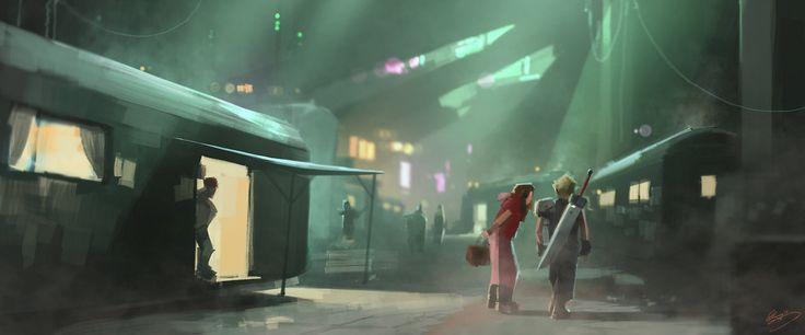 These speed paintings are the work of concept artist Lap Pun Cheung and they pretty much sum up the first few hours of Final Fantasy VII. The bombing mission, Rufus, meeting with Aeris, Tifa and the promise, all here.