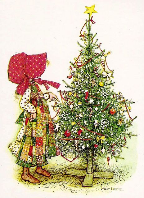 Holly Hobbie Christmas tree