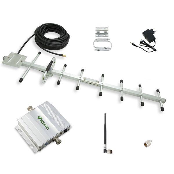 Усилитель сигнала сотовой связи VEGATEL VT-900E-kit
