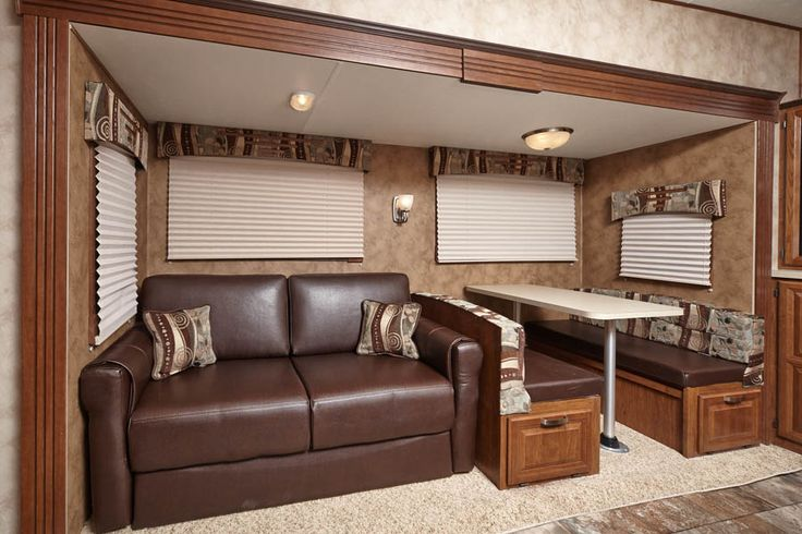rv decor cruiser fifth wheel aire series cfl30db sofa booth dinette interior fifth