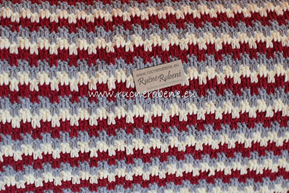 Baby blanket Suede by RucneRobene on Etsy