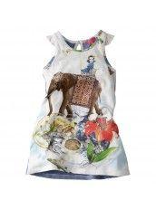 Cakewalk Mädchen-Mini Kleid, Solar