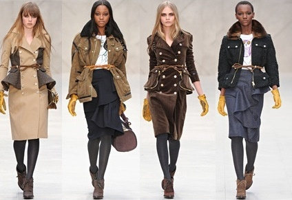 winter 2013 fashion trends for women UK