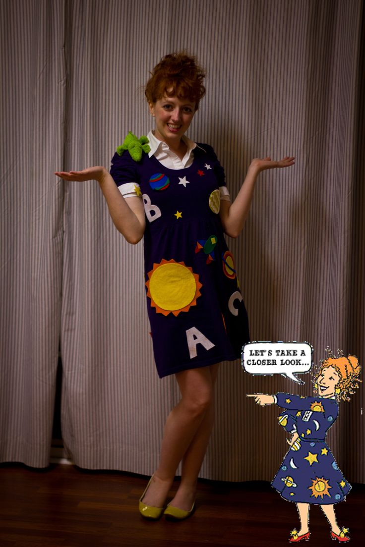 magic school bus ms frizzle costume | For Mrs Frizzle Costume :