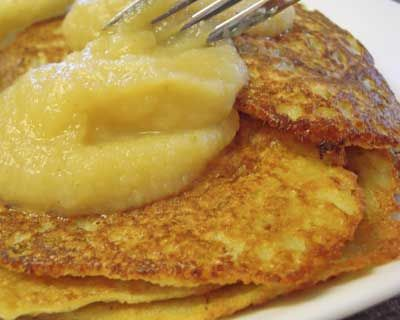 German potato pancakes, done the easy way, in a blender: http://www.quick-german-recipes.com/german-potato-pancake-recipe.html