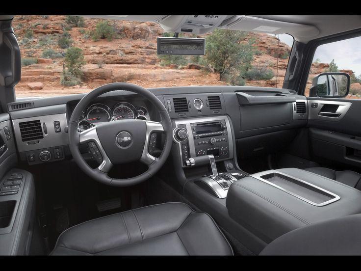 hummers | 2008 hummer h2 interior driver view 1920x1440 wallpaper